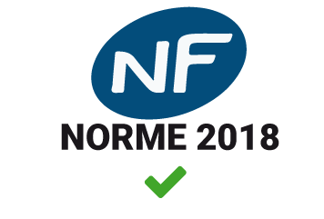 Icône certification NF norme 2018